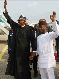 BUHARI and OSHINBAJO